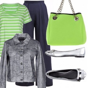 Outfit Il green flash