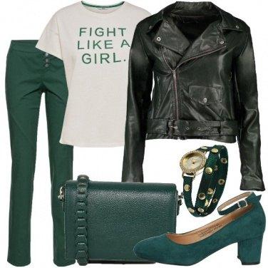 Outfit Giornata al verde