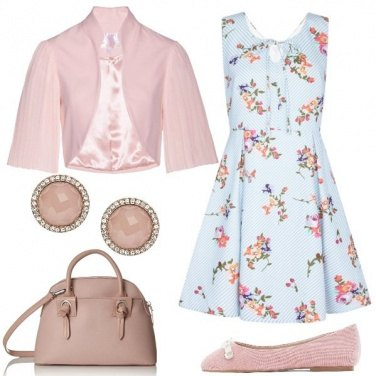 Outfit Fiori e bon ton