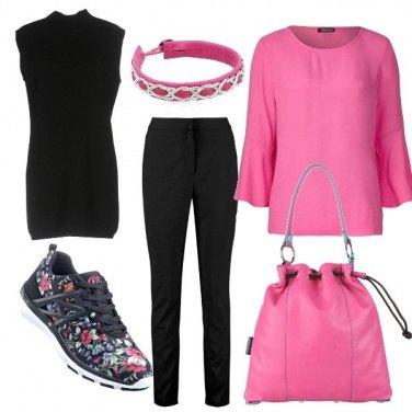 Outfit Rosa fucsia