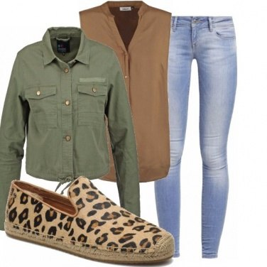 Outfit Un safari maculato