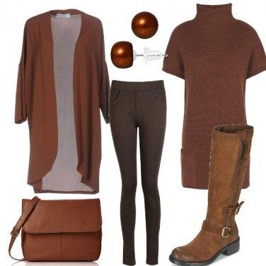 Outfit Le sfumature della terra
