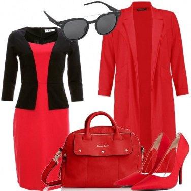 Outfit Il rosso è il nero