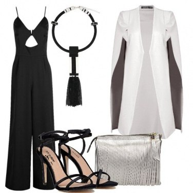 Outfit Il capospalla bianco
