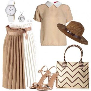 Outfit Romantico plissé