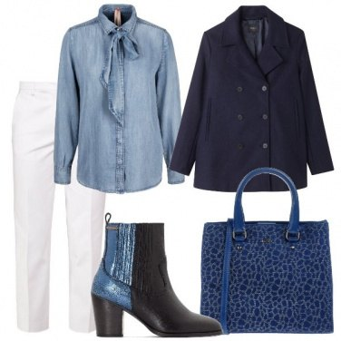 Outfit Stivaletto bicolor