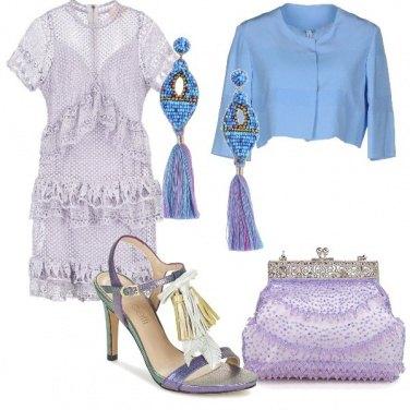 Outfit Gradazioni di lilla
