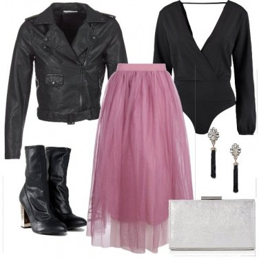 Outfit Tulle rock