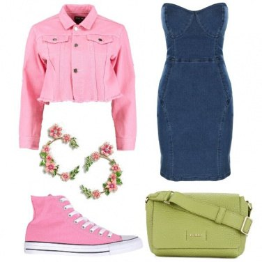 Outfit L\'abito in jeans