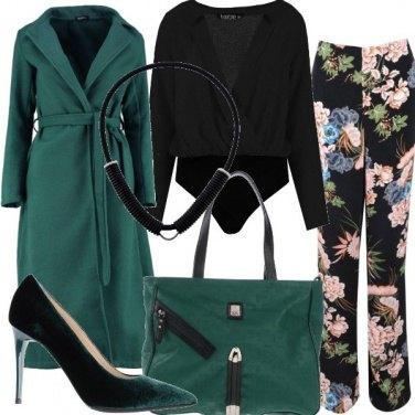 Outfit Il pantalone fantasia floreale
