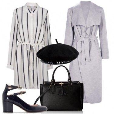 Outfit Uno stile parigino