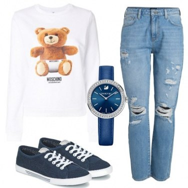 Outfit Teddy look
