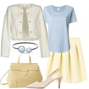 Outfit Pastelli bon ton