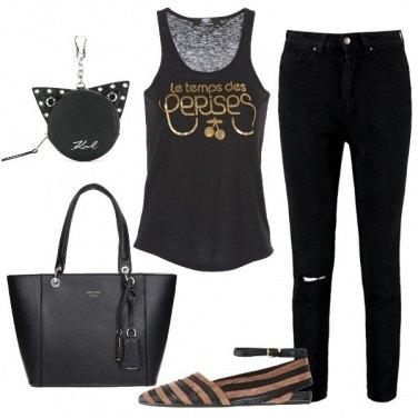 Outfit Quasi completamente di nero