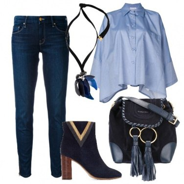 Outfit Camicia e jeans