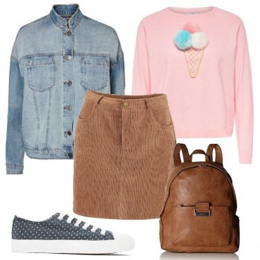 Outfit Un look dolcissimo
