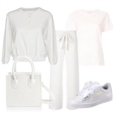 Outfit Totalmente bianco