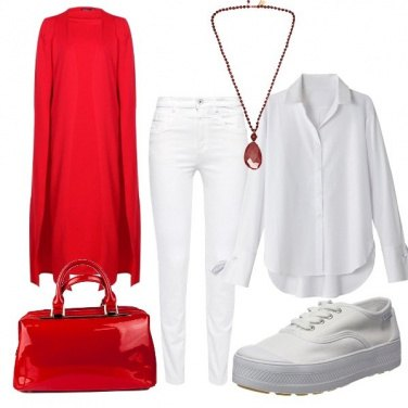 Outfit Goccia rossa