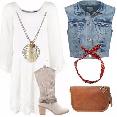 Outfit Boho & jeans