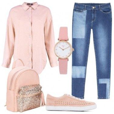 Outfit Io amo il rosa
