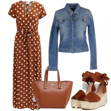 Outfit Abito a pois