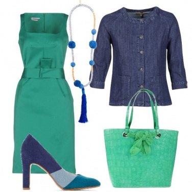 Outfit Gradazioni di colori