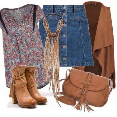 Outfit Hippy di classe