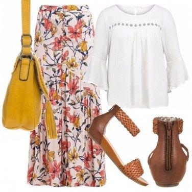 Outfit Con un look boho chic