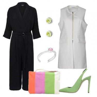Outfit La pochette color block