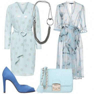 Outfit Azzurro come il cielo