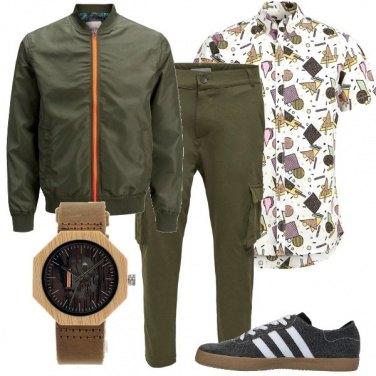 Outfit Fantasia geometrica