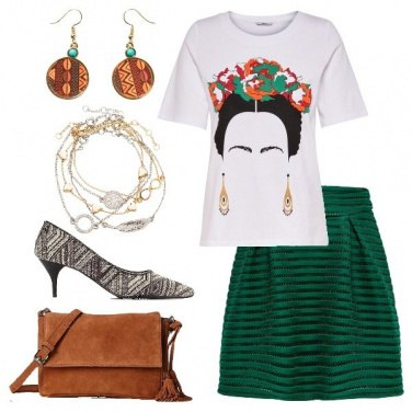 Outfit Frida contemporanea