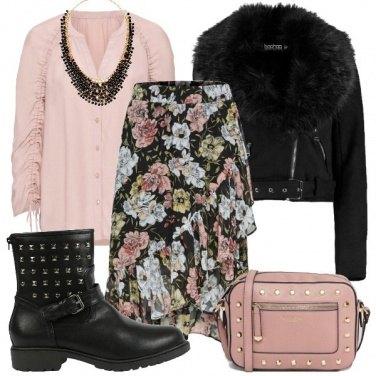 Outfit Romantico rock
