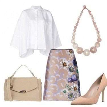 Outfit Fiori e delicatezza