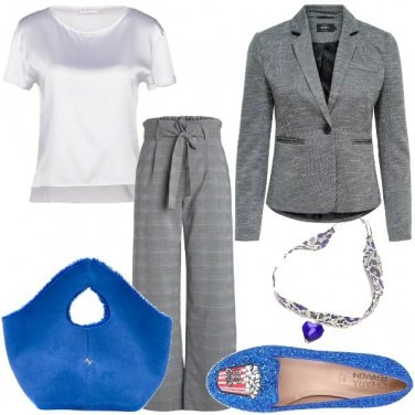 Outfit Le scarpe flat con i pop corn