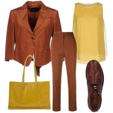 Outfit I caldi colori della terra