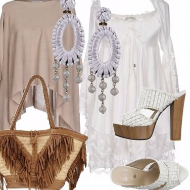 Outfit Romantica in boho style.