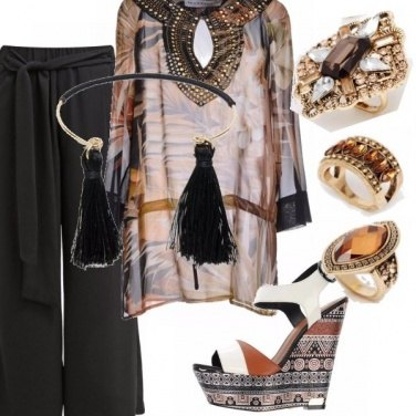 Outfit African mood.