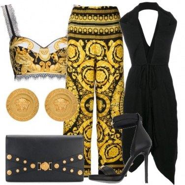 Outfit Tributo ad un genio: Versace