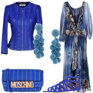 Outfit Onde blu