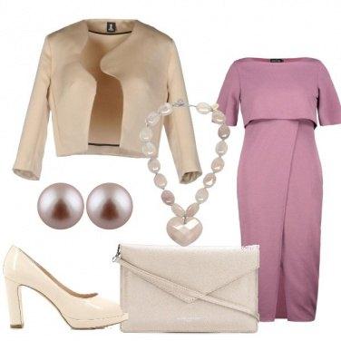 Outfit Cerimonia con toni delicati