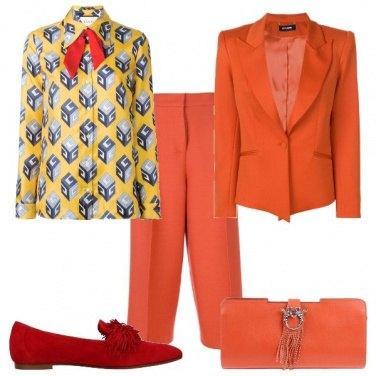 Outfit Completo arancio