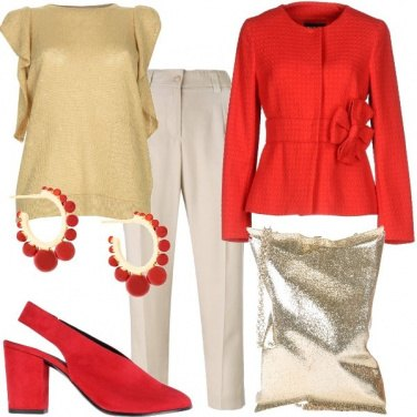 Outfit Oro rosso