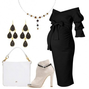 Outfit Trendy in nero