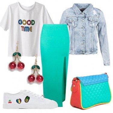 Outfit Voglia di ciliegie