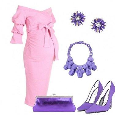 Outfit Dettagli viola