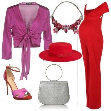 Outfit La jumpsuit rossa