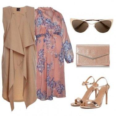 Outfit Tacchi, fiori e pancione!