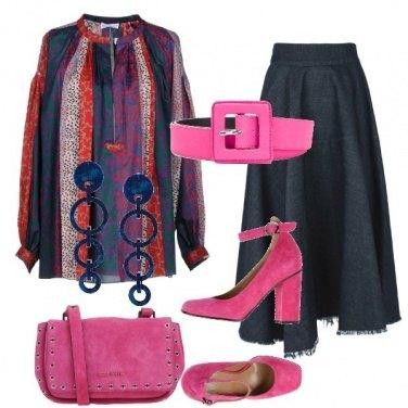 Outfit La blusa con la cintura