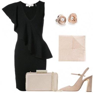 Outfit Tubino nero importante